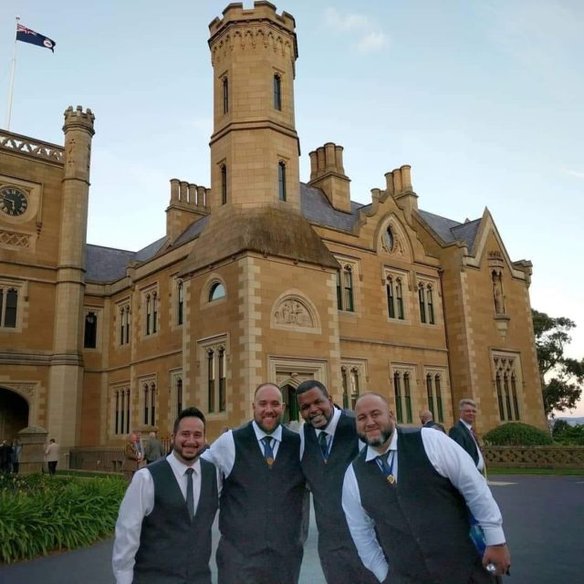 We had the honor of singing for the Govenor of Tasmania in Hobart, Australia. Truly a spectacular event.