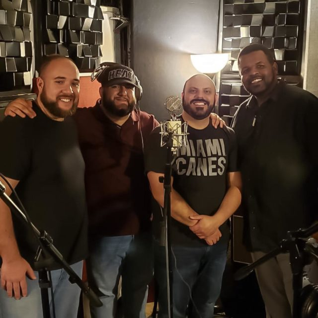 We're excited to be together once again and recording our second album! Hope to see you soon in Jacksonville for Midwinter. We can't wait! #SignatureQuartet #BarberSoul #acappella #quartet #sun #signatureqt #bhs #barbershopharmonysociety #BHSJAX2020